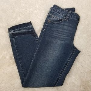 NWT Justice Girls Blue Mid Rise Cuff Jegging Pants